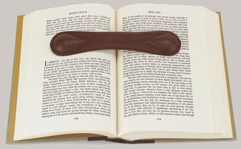 Leather Book Weight