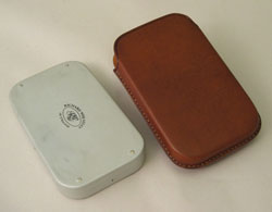 Leather Wheatley Fly Box Cover